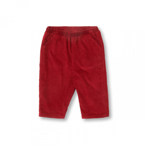 Cordelia de Castellane Candy Pants - Dark Red