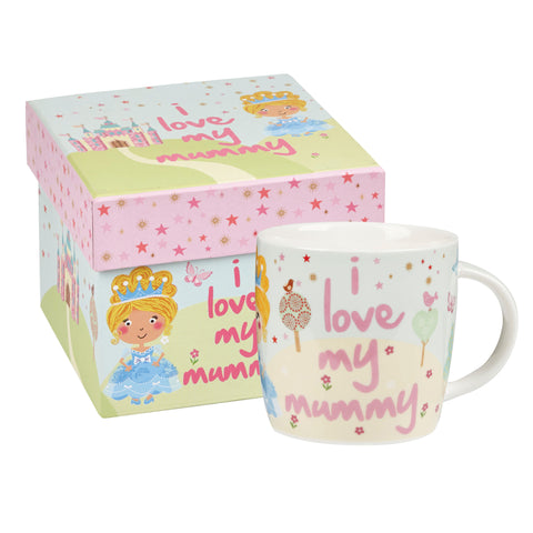 Churchill Little Rhymes Cinderella I Love My Mummy Mug In Hat Box
