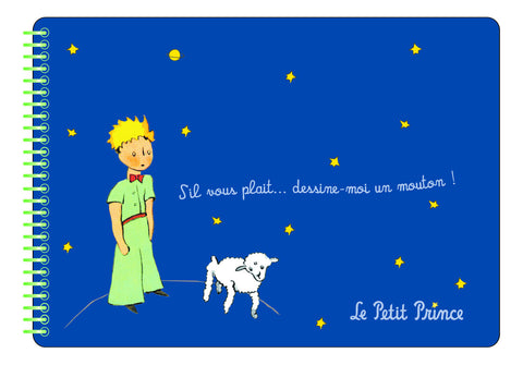 The Little Prince sketchbook - Dark Blue