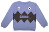 Emile et Ida Monster Sweatshirt - Navy