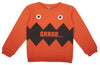 Emile et Ida Monster Sweatshirt - Orange