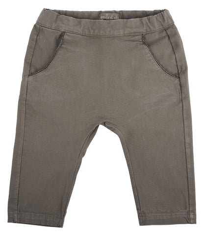 Emile et Ida Simple Pocket Trousers - Dark Grey