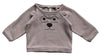 Emile et Ida Bear Sweatshirt - Grey