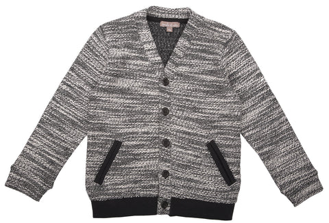 Emile et Ida Embroidered Cardigan - Grey