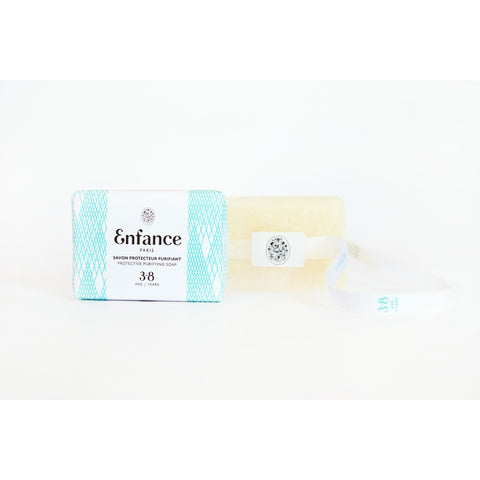 Enfance Paris Protective Purifying Soap Wrapped in Paper 3-8Y