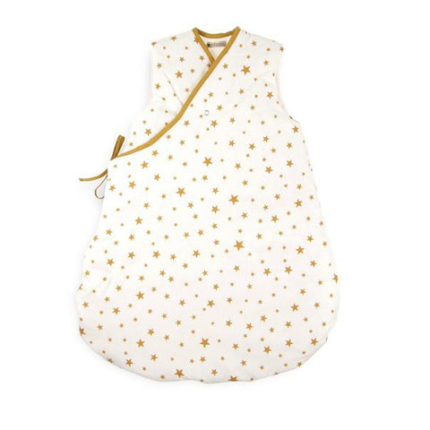Nobodinoz Sleeping Bag Mustard Stars