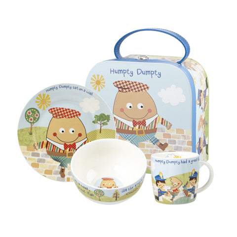 Churchill Little Rhymes Humpty Dumpty 3 Piece Breakfast Set