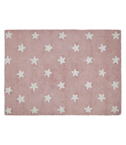 lorena-canals-pink-stars-white-washable-rug-room-decor-lore-c-r-sw-01