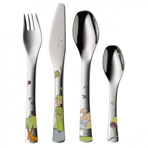 The Little Prince 4 Pieces Cutlery Set