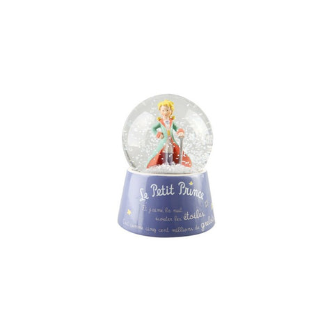 The Little Prince in Dress Musical Snow Globe