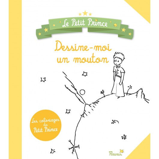 The Little Prince Draw Me A Sheep Colouring Book Petit Bazaar