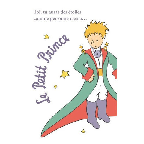 The Little Prince in Dress Postcard