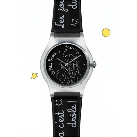 The Little Prince Watch - Black / Silver