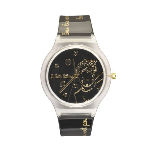 The Little Prince Watch - Black / Gold