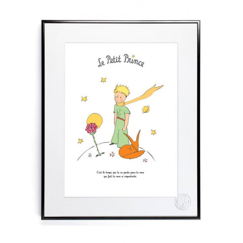 The Little Prince and The Rose 30x40cm Art print