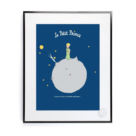 The Little Prince and Earth 30x40cm Art print