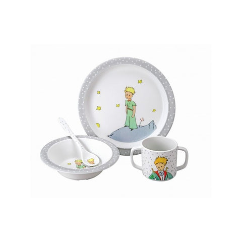 The Little Prince 4 Piece Meal Set - Grey