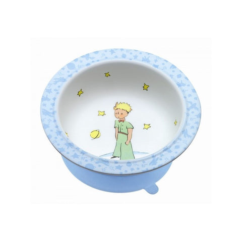 The Little Prince Bowl with Suction Pad - Blue