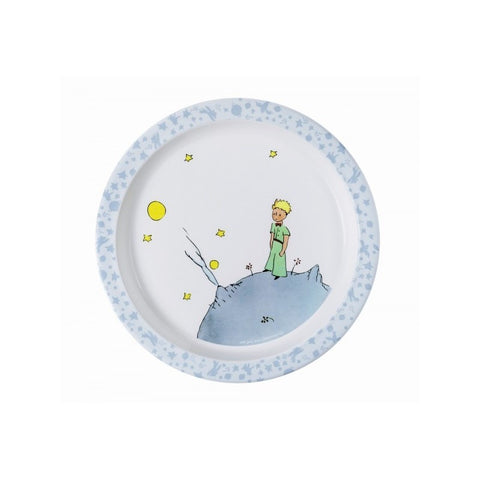 The Little Prince Baby Plate - Blue