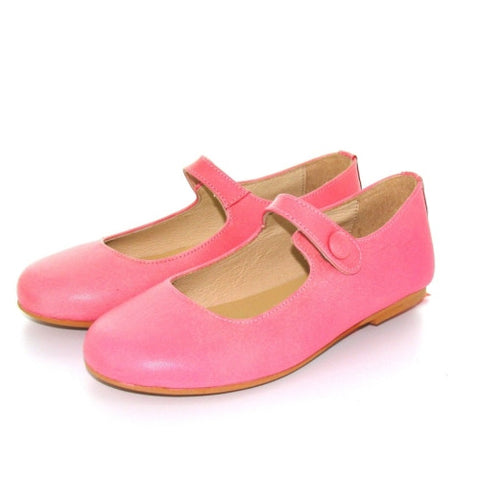 Manuela de Juan Mimi Mary-Janes Shoes - Pink