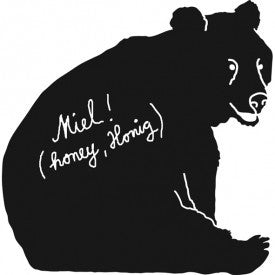 Mimi'lou Bear Wall Sticker