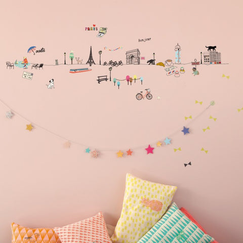 Mimi'lou Paris Wall Border