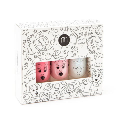 Nailmatic Cosmos Nailpolish Set of 3 - Pastel Colors