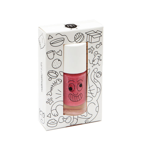 Nailmatic Kitty Nailpolish - Red Glitter
