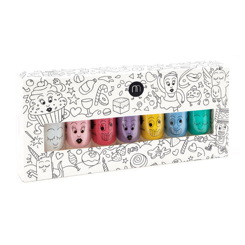 Nailmatic Party Nailpolish Set of 7 - Pastel Colors