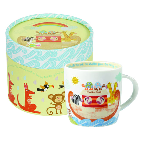 Churchill Little Rhymes Noah's Ark Mug In Hatbox