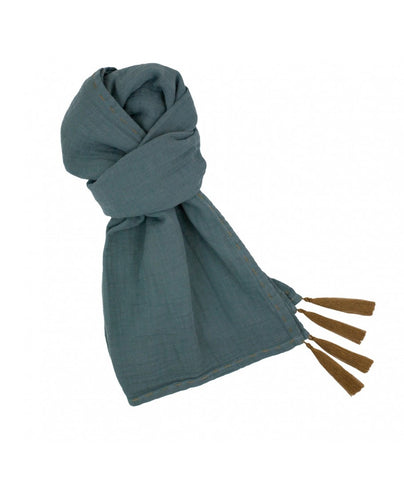 Numero 74 Ice Blue Woman Scarf