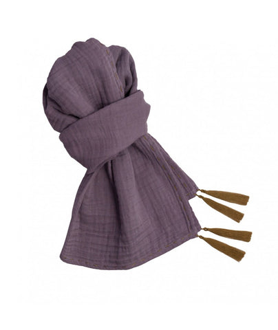 Numero 74 Dusty Lilac Woman Scarf