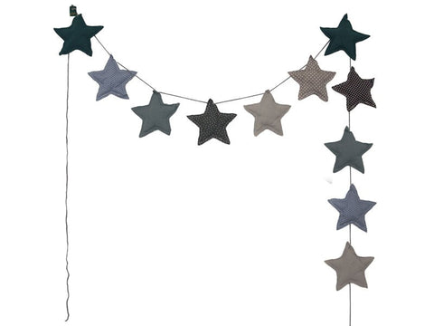 Numero 74 Mix Star Garland - Blue