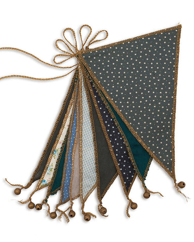 Numero 74 Bunting Garland - Mix Blue