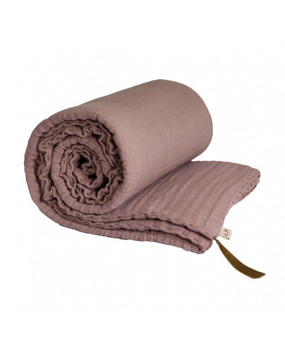 Numero 74 Winter Blanket - Dusty Pink