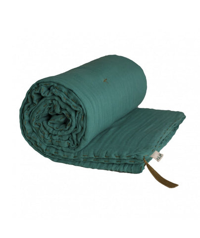 Numero 74 Winter Blanket - Aqua Blue