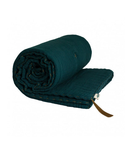 Numero 74 Winter Blanket - Teal Blue