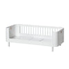 Oliver Furniture Wood Mini+ Junior Bed White (Pre-Order; Est. Delivery in 2-3 Months)
