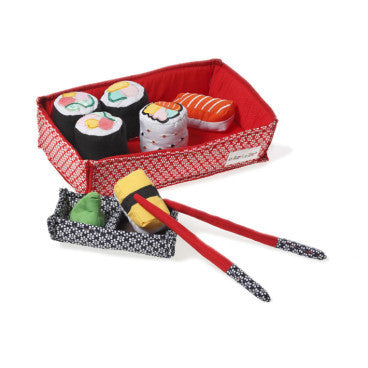 Oskar and Ellen Soft Sushi Set
