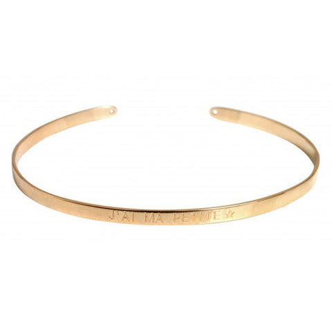 Paloma Stella Gold Bangle - J'ai Ma Petite