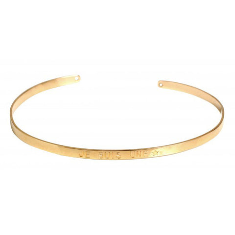 Paloma Stella Gold Bangle - Je Suis Une