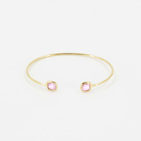 Paloma Stella Bangle Double Stone Riviera