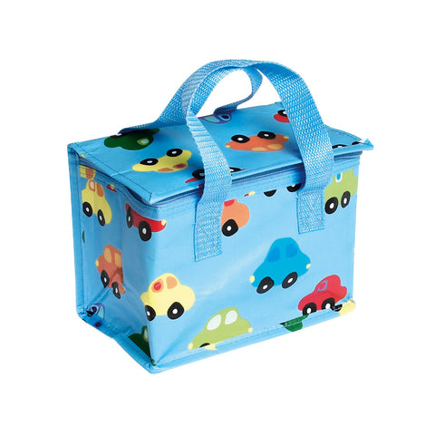 Rex Blue Cars Lunch Bag