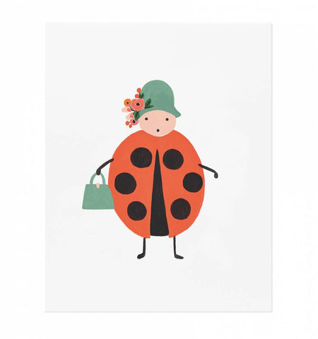 Rifle Paper Co Ladybug Art Print