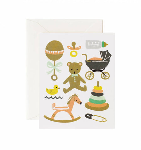 Rifle Paper Co Classic Baby Card