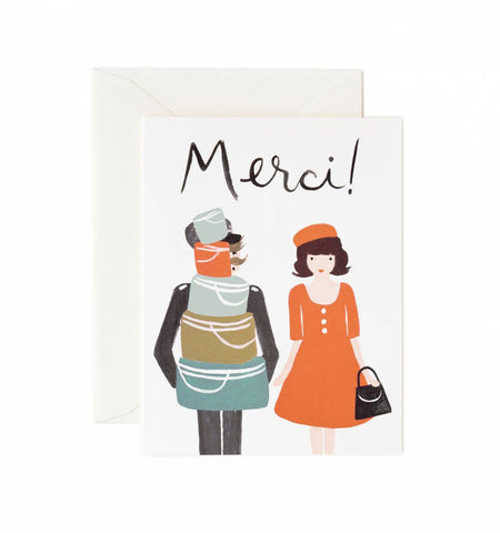 Rifle Paper Co Merci Card