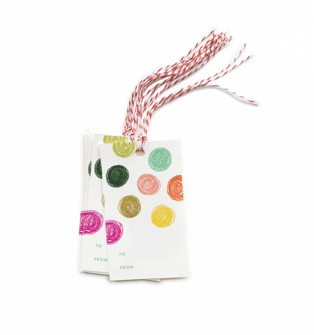 Rifle Paper Co 10 Party Dots Gift Tags