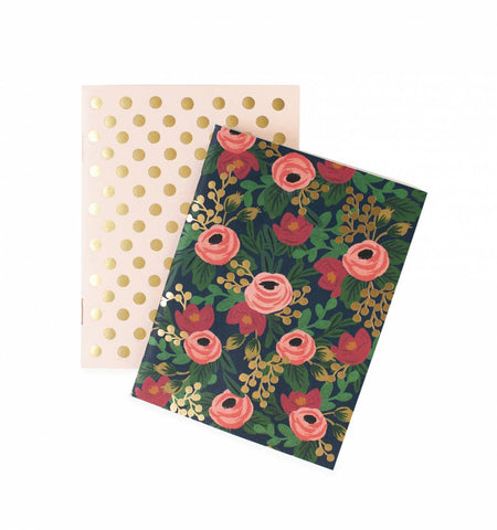 Rifle Paper Co 2 Rosa Pocket Notebook Set