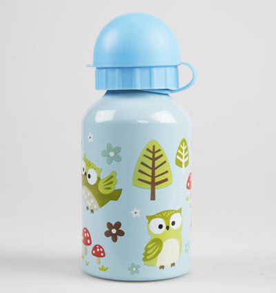 RJB Stone Water Bottle - Forest Owl
