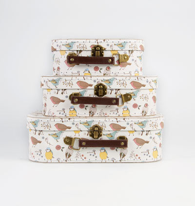 RJB Stone British Birds Suitcase